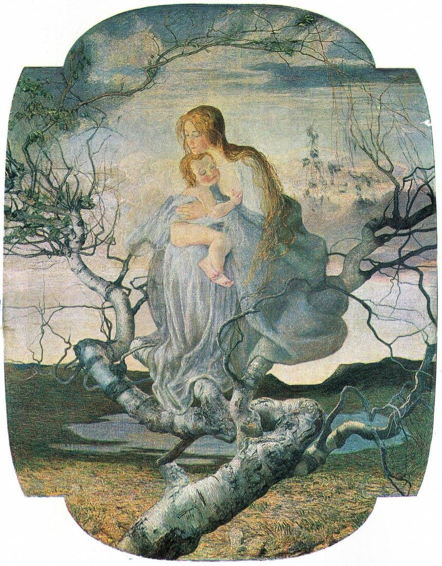 Life angel [2] - Giovanni Segantini